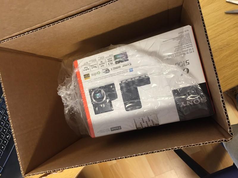Unboxning av Sony A5100
