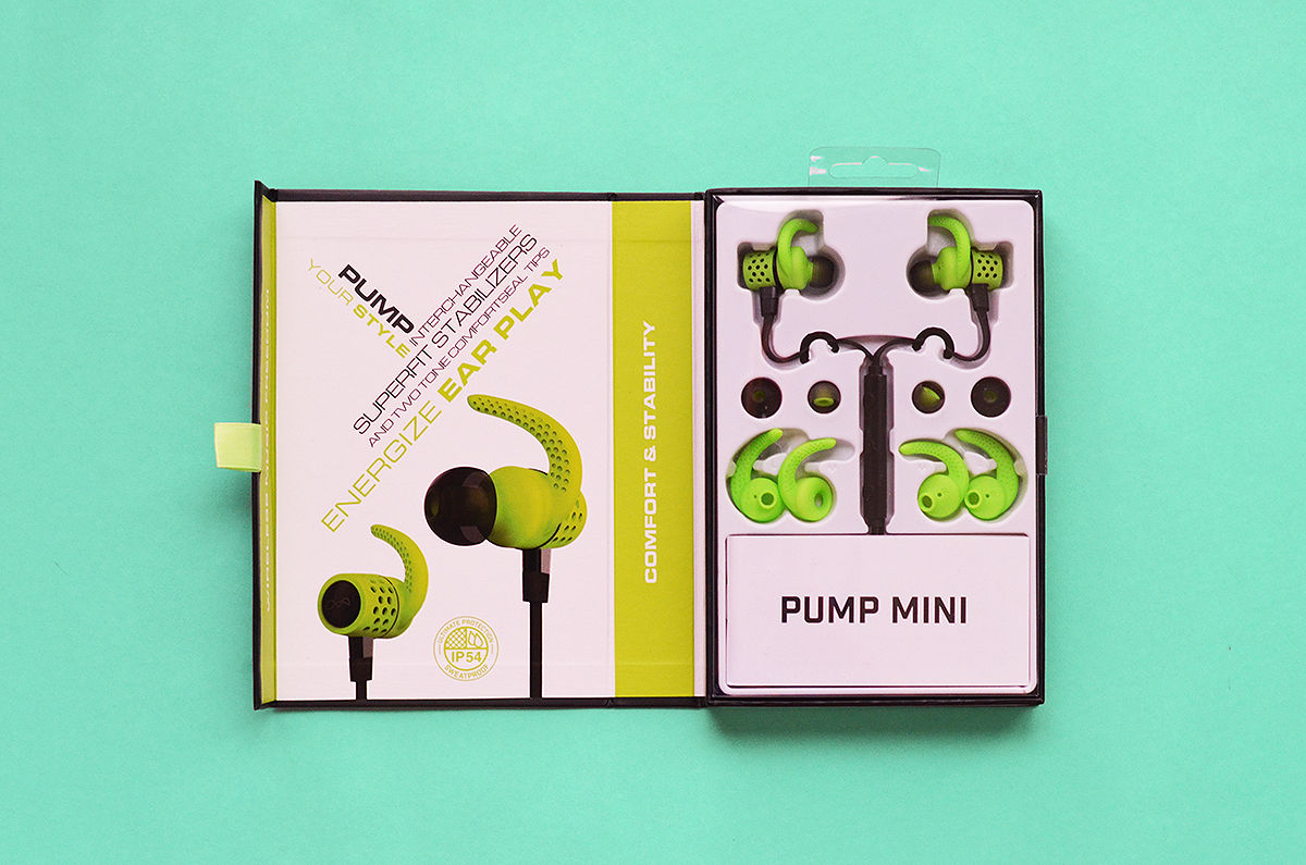 Trice Nagusara BlueAnt Pump Mini Sport Bluetooth Earbuds