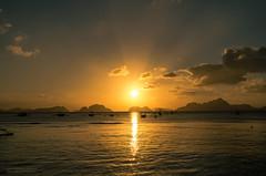 Sunset of El Nido