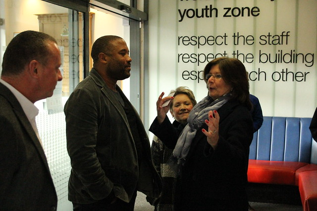 John Barnes MBE becomes Youth Zone Ambassador