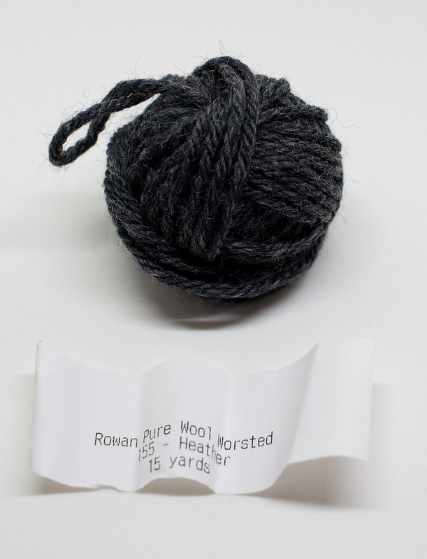 Beanie Bags, December 2015 - Rowan Pure Wool Worsted