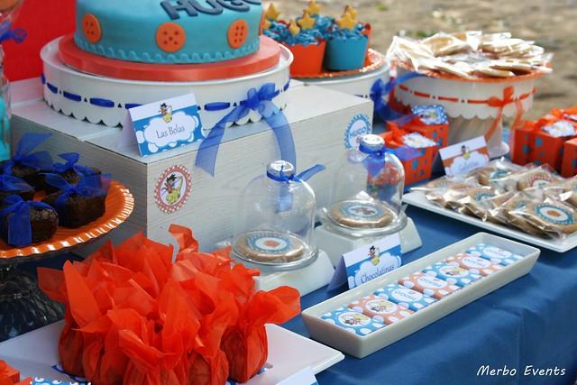 mesa dulce Bola de drac Merbo Events