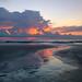 Low tide on Cocoa Beach. by Jill Bazeley