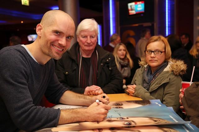 """Ein Atem"" Würzburger Regisseur Christian Zübert live im CINEWORLD - Januar 2016"