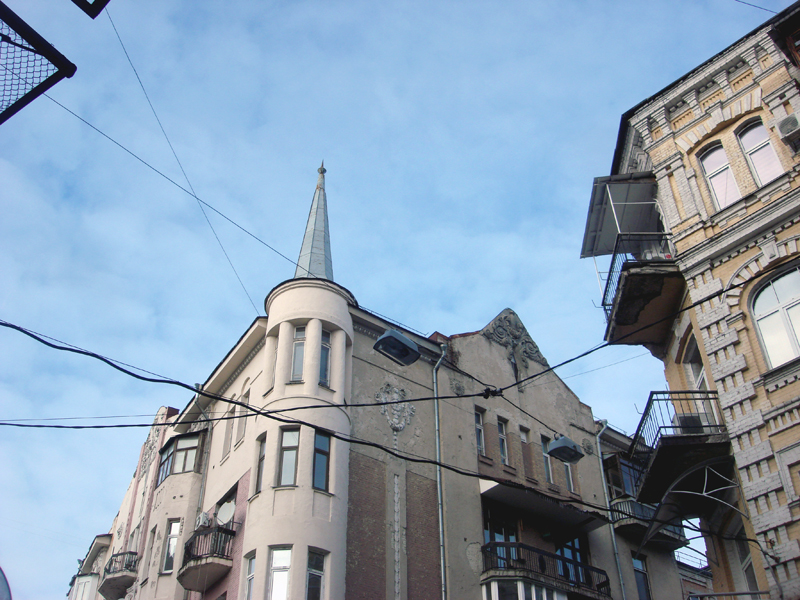 old Kiev architecture