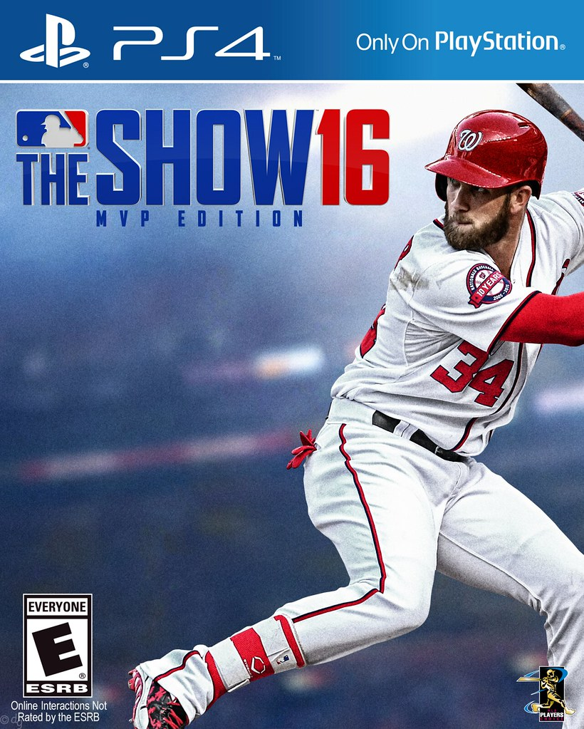 All sizes | Bryce Harper MVP Edition MLB The Show 16 PS4