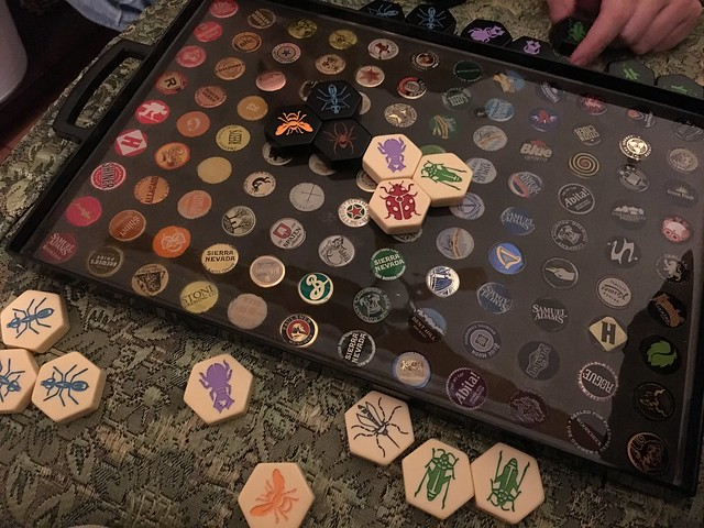 Playing a game of Hive