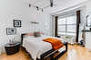 E 4th St Loft - Bedroom