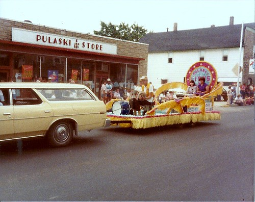 Pulaski Wisconsin Parade, early 1980's.