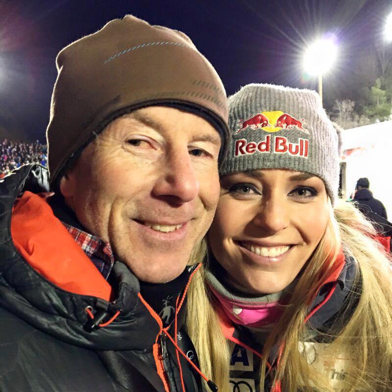 Ingemar Stenmark and Lindsey Vonn