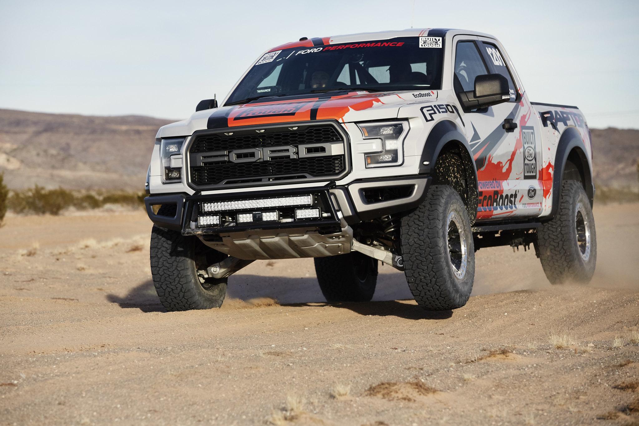 2017 Ford F-150 Raptor prepares for grueling off-road racing series