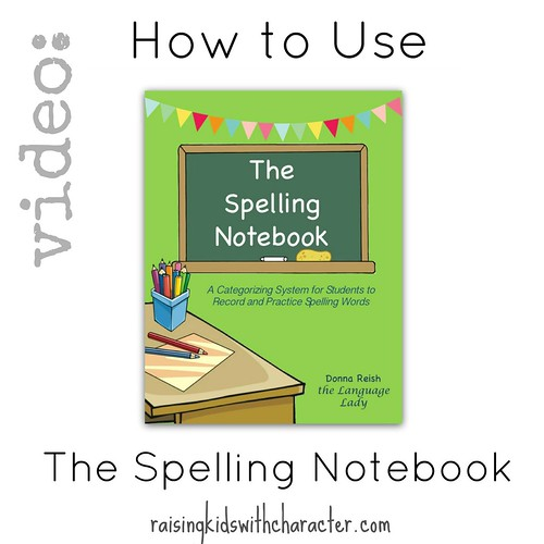 Video: How to Use the Spelling Notebook