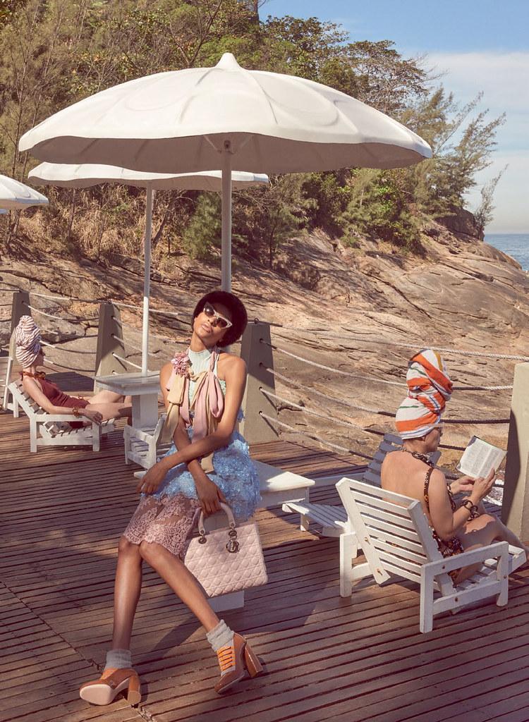 Джордан Данн — Фотосессия для «Vogue» BR 2016 – 3