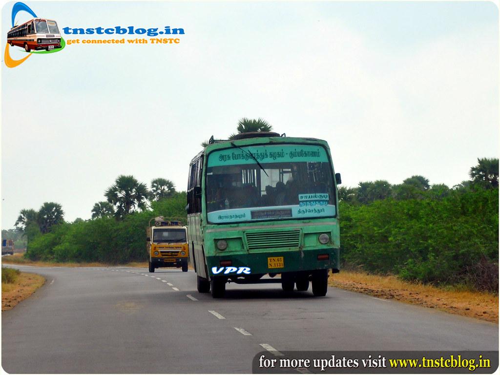 Rameshwaram Thiruchendur TNSTC Bus