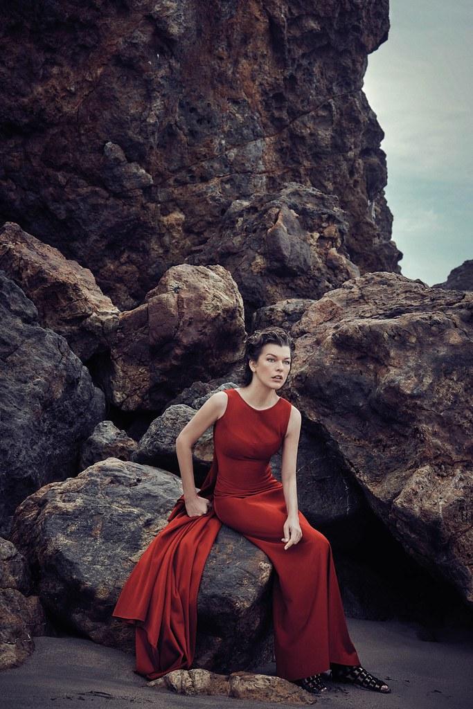 Милла Йовович — Фотосессия для «Harper's Bazaar» ES 2016 – 4