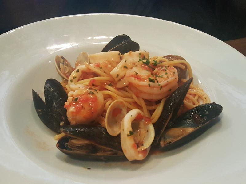 Terroni seafood pasta
