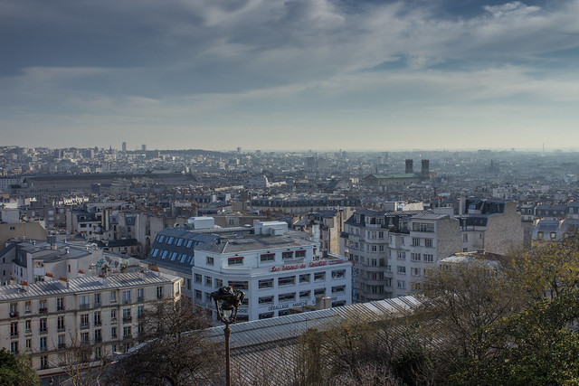 View over Paris from Sacre-Couer