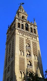 Image of Cathedral of Seville near Triana. españa sevilla andalucía spain gothic trafalgar seville andalusia sevillecathedral catedraldesantamaríadelasede cathedralofsaintmaryofthesee trafalgarinsider spanishwonders