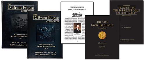 Pogue Hardbound catalogs and books