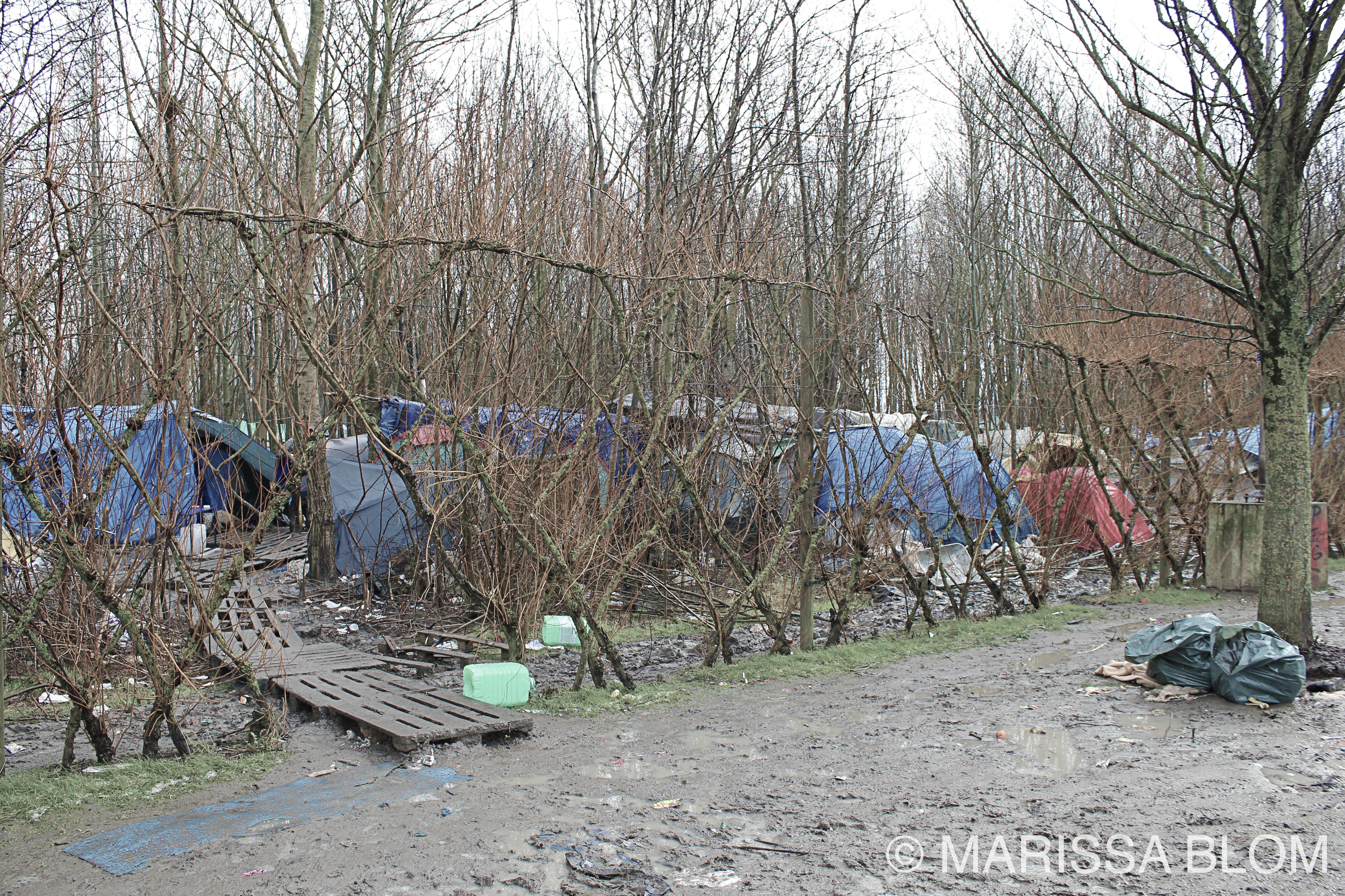 Vluchtelingenkamp Duinkerke