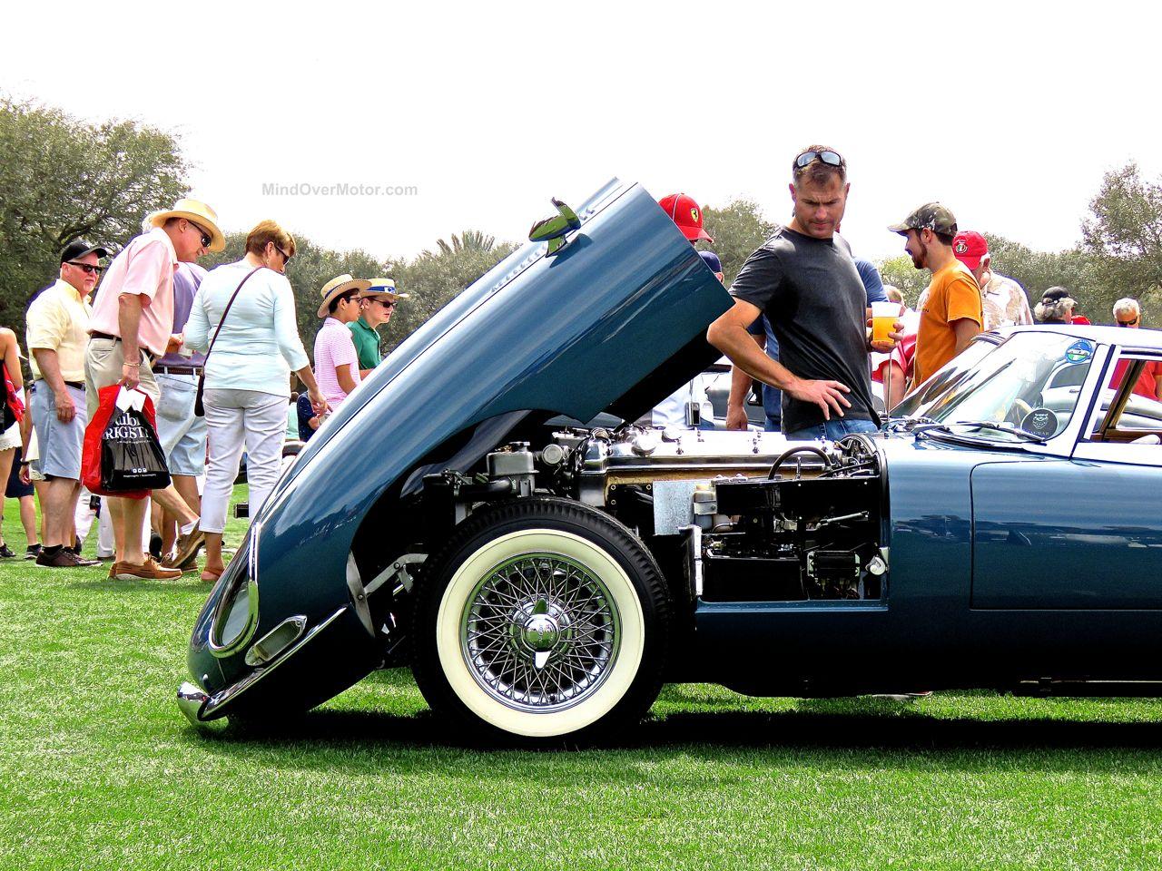 Amelia Island 2016 Jaguar E-Type
