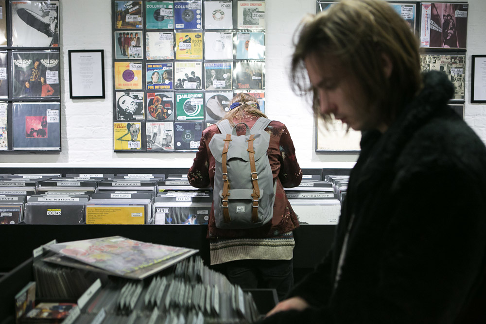 Record Shopping with PAUW, Sister Ray