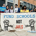 #SchoolsNotJails Solidarity Action with #ShutDownCHI