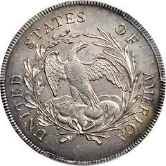 1795 dollar reverse