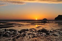 Polzeath Sunset 4. Nikon D300s. DSC_3203.