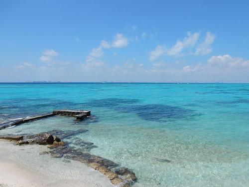 Isla Mujeres - blauw water