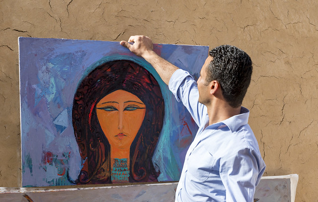 Alaa Awad - A day in the home of an artist