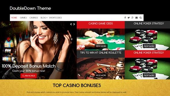 DoubleDown Theme v1.0.3 – Casino WordPress Theme
