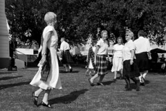 Highland dancers and marching girls