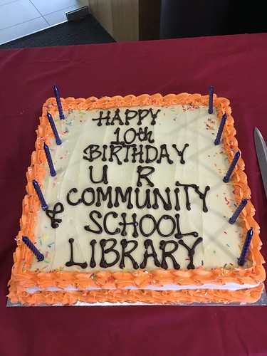 Upper Riccarton Community and School Library celebrates ten years