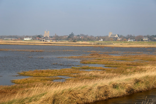 Marshes at Orford Ness
