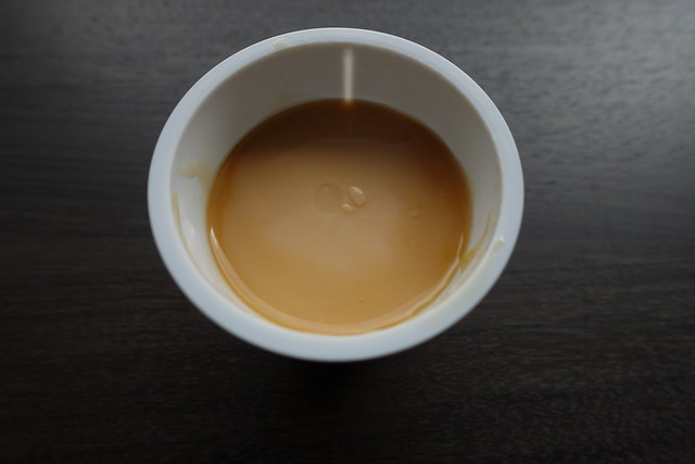 北海道乳業×チロルチョコ きなこプリン黒みつソース入り_03