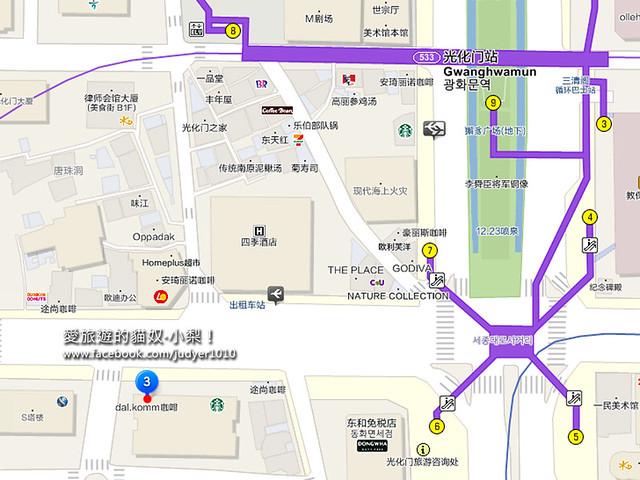 光化門地圖