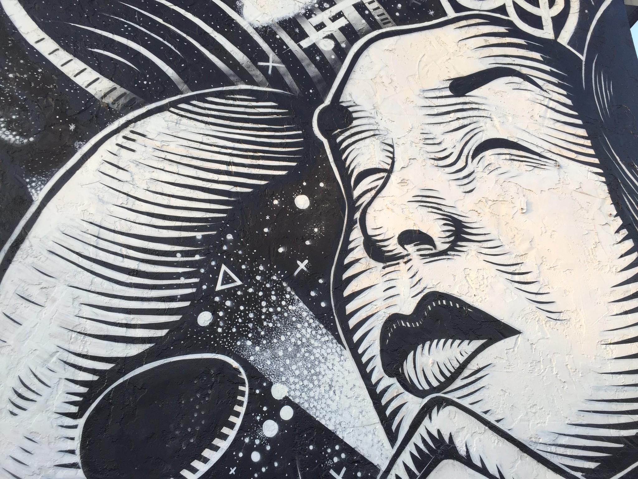Alley murals