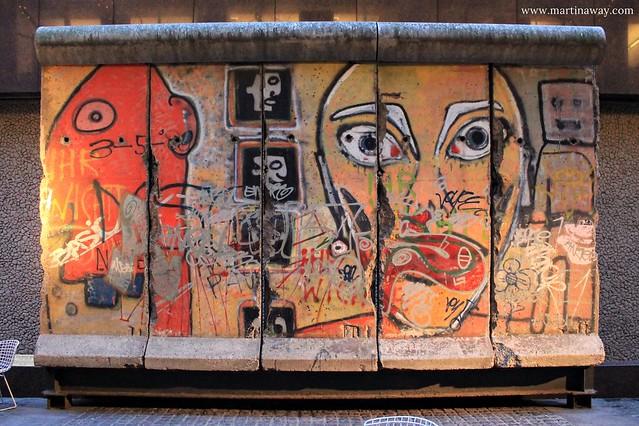 Un pezzo del Muro di Berlino