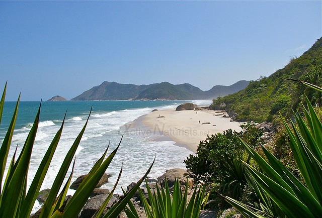 view 0004 praia Abrico, Rio de Janeiro, Brasil
