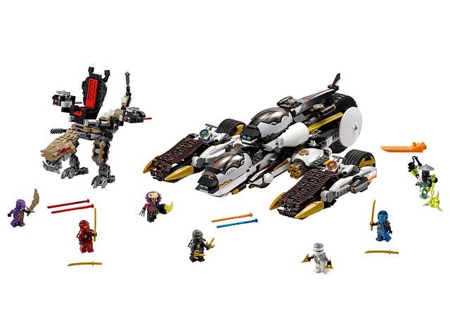LEGO Ninjago 70595 - Ultra Stealth Raider