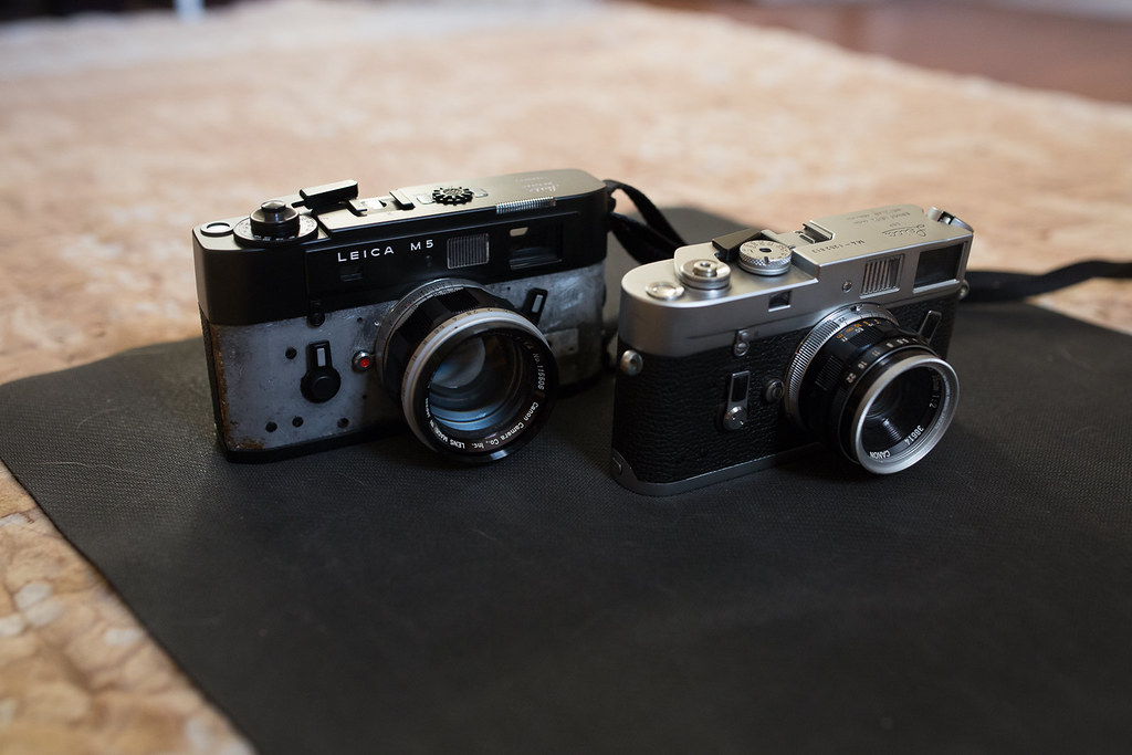 Leica M5, Leica M4, Canon P Compared - Rangefinderforum com