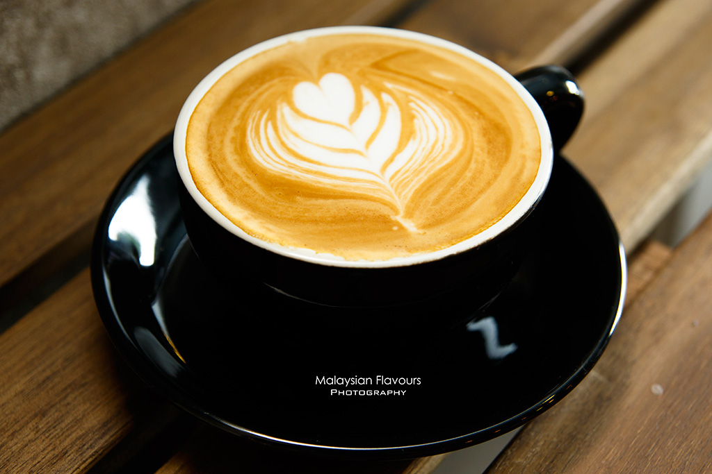Heartbeans Coffee Cafe Pandan Indah KL flat white