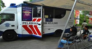 pelayanan SIM keliling