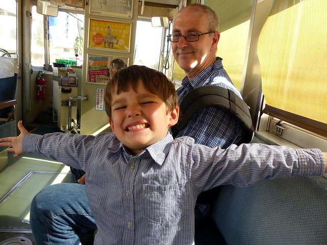 Tram hug