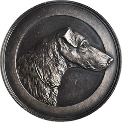 Society of Fox-Terriers & Dachshunds Medal obverse