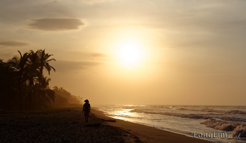 travel sunset sea people man beach america sunrise canon walking person photography colombia surf photos walk south palm latin tamron lim sud fong palomino 60d 18270mm