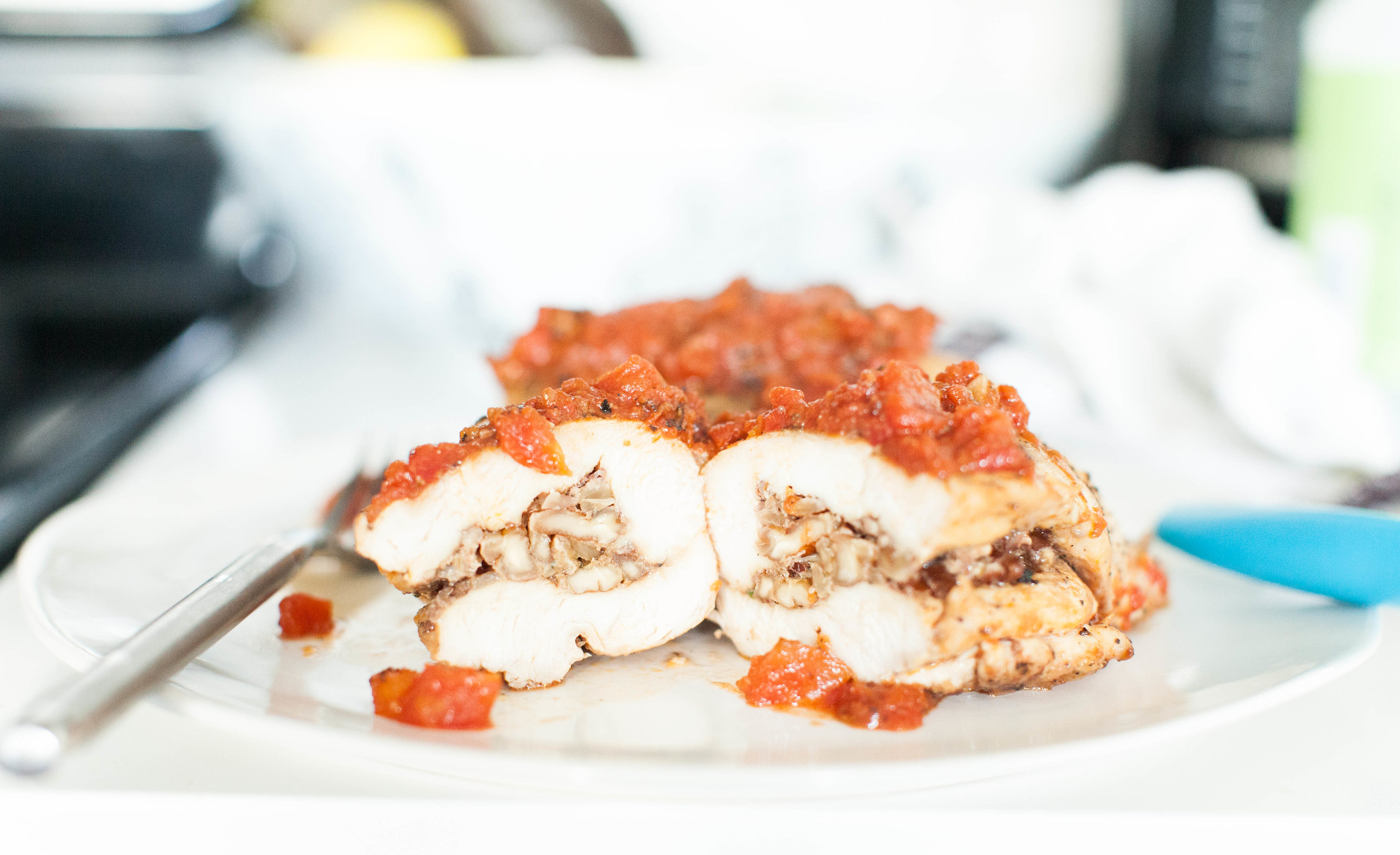 pecan stuffed chicken breast