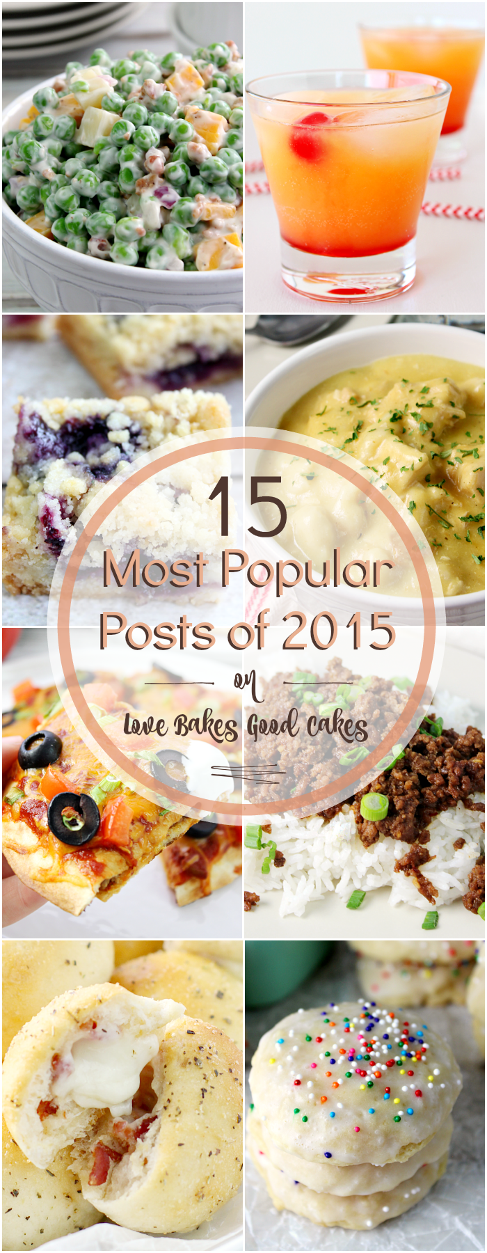 The 15 Most Popular Posts of 2015 on Love Bakes Good Cakes