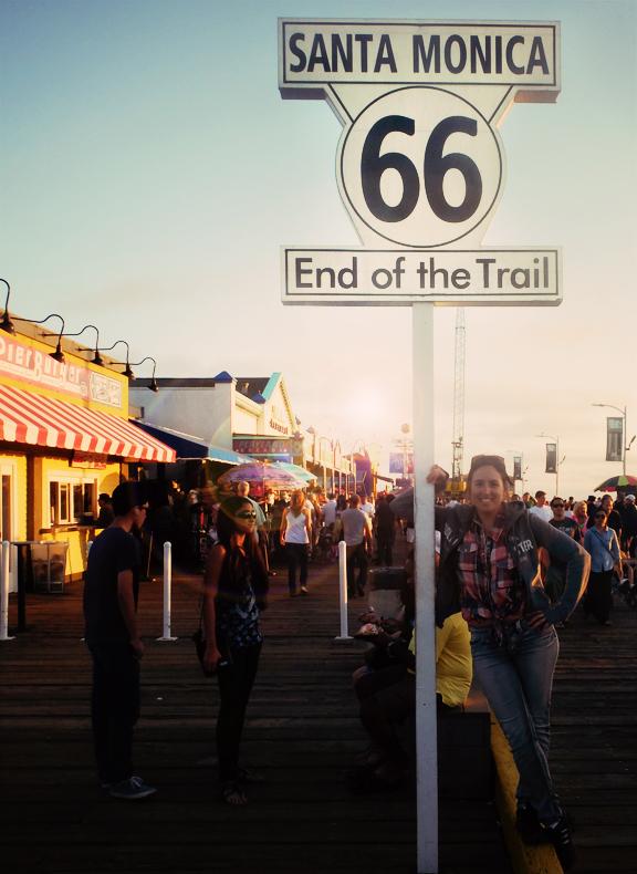 Santa Monica Pier Californie